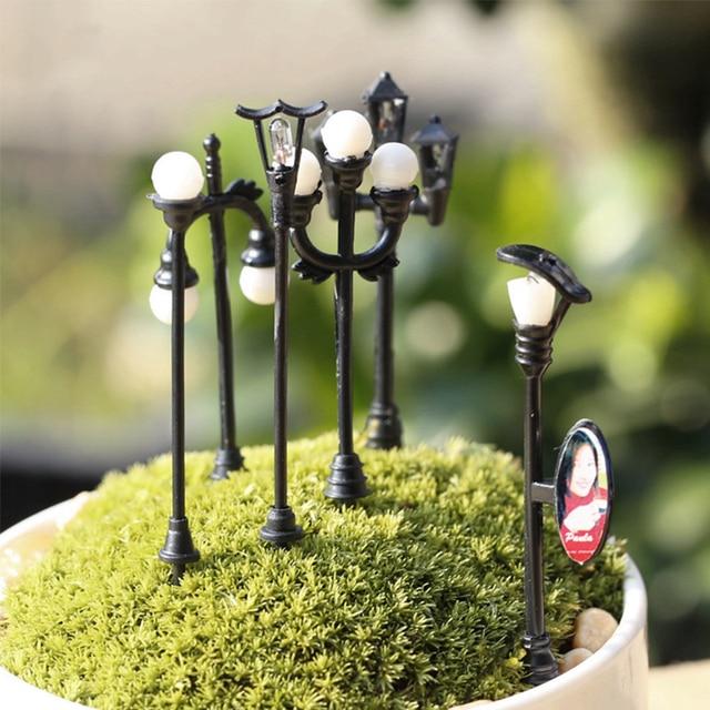 Craft DIY Miniature โคมไฟ 1 PC Garden ตกแต่งบ้าน Mini ประดิษฐ์ภูมิทัศน์ Micro