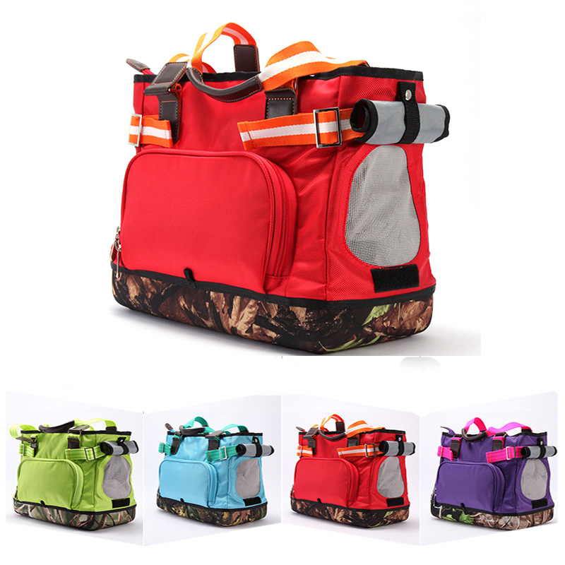 Dog Bag pet bag carrier handbag Breathable Dog Large Capacity Nylon Anti Grab Waterproof Pet Products Travel Pet Carrier ATY 023 in Dog Carriers from Home Garden