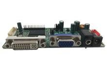 DVI + VGA + Audio LCD placa principal suporte de saída LVDS