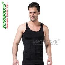 Männer former weste körper abnehmen bauch curl bodybuilding underwear baumwolle tops korsett männer former fünf farben zerobodays