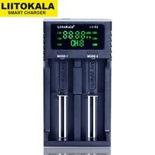 ใหม่LiitoKala Lii 500 PD4 PL4 402 202 S1 S2 Battery Chargerสำหรับ18650 26650 21700 AA AAA 3.7V/3.2V/1.2Vแบตเตอรี่ลิเธียมNiMHแบตเตอรี่
