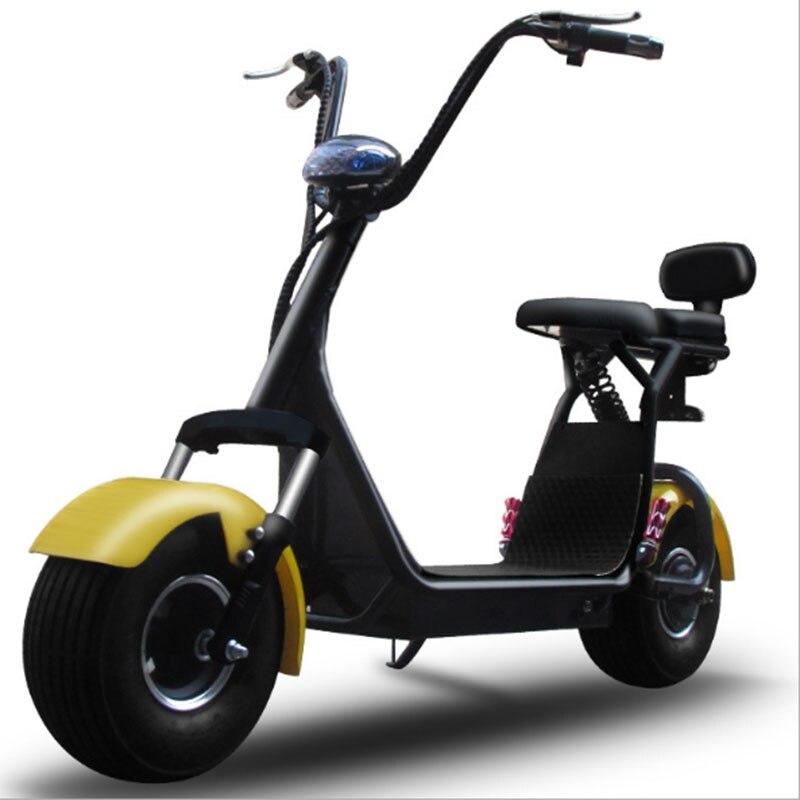 Citycoco amortisseur petite moto électrique pour homme et femme mode forte autonomie style chaud léger