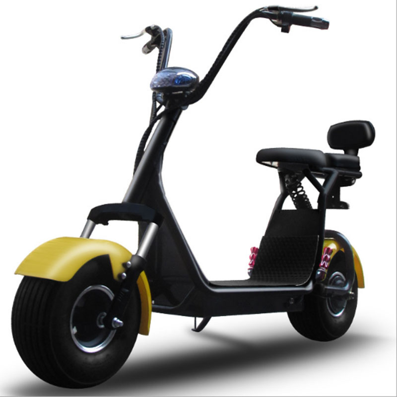 Citycoco Shock-absorbing Little  Electric Motorcycle For Man And Woman Fashion Strong Battery Life Hot Style Lightweight