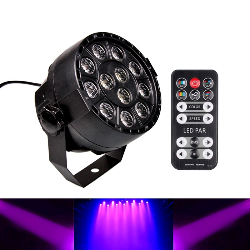 YAM 12 LEDs PAR Light Voice Activated Remote Control Lighting For Club,Stage,Party and Others Need Light Effect isrotel yam suf ex ambassador 4 эйлат