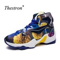 Thestron Баскетбол Спортивная обувь для Для мужчин новый тренд Для мужчин S Баскетбол Сапоги и ботинки для девочек дешевые Баскетбол обуви для ч...