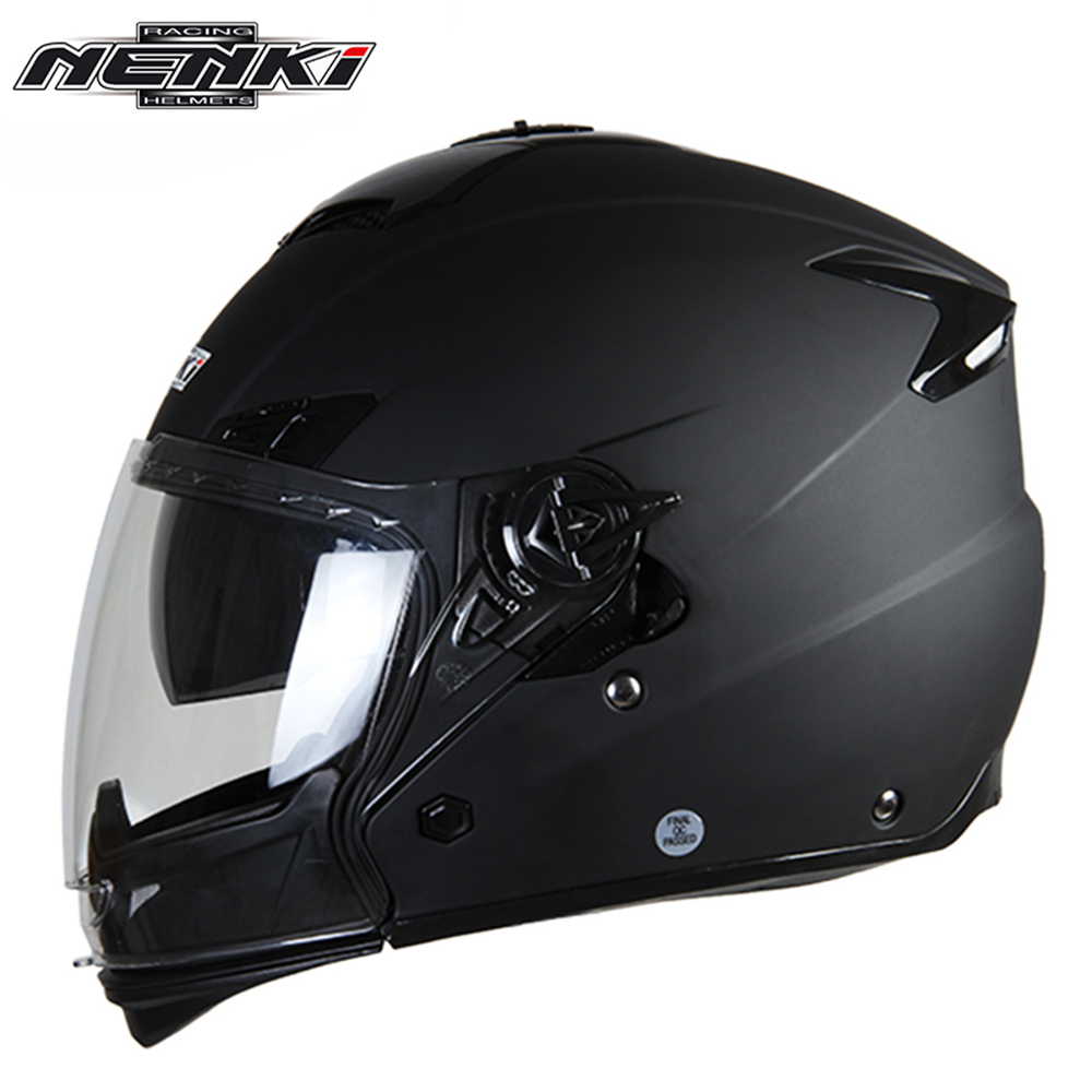 NENKI Motorcycle Full Face font b Helmet b font Men Women Motorbike Riding Street Bike Motor