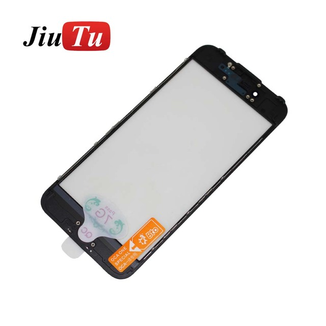 Cold Press Front Glass+Frame+OCA For iPhone 6 6S Plus Outer Glass ...