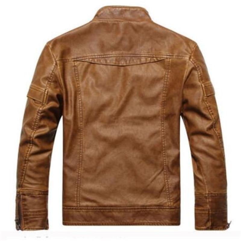 3 Couro Véritable Hommes MasculinaJacke Cuir Arrivent Moto Jaqueta 2 En Lenew 1 Marque Veste HommesDe N8OkZn0wXP