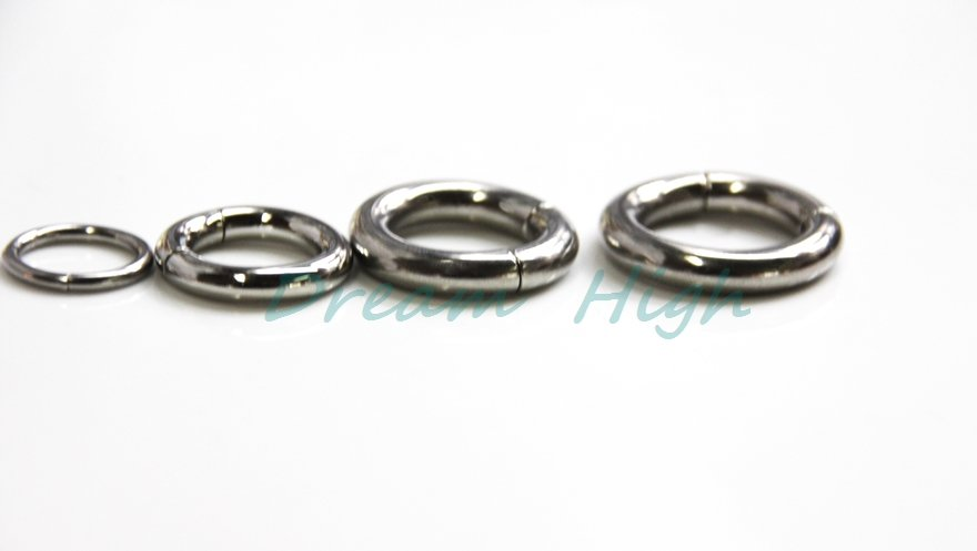 New Arrival 316L Surgical Steel Smooth Segment Ring Segment Captive Ring Fashion Body Jewelry 50pcs lot