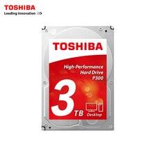 Toshiba SATA III 3.5″ 3TB HDWD130AZSTA 3TB desktop hard 64M P300 Boxed 3.5-inch internal Hard Drive Desktop PC hard disk