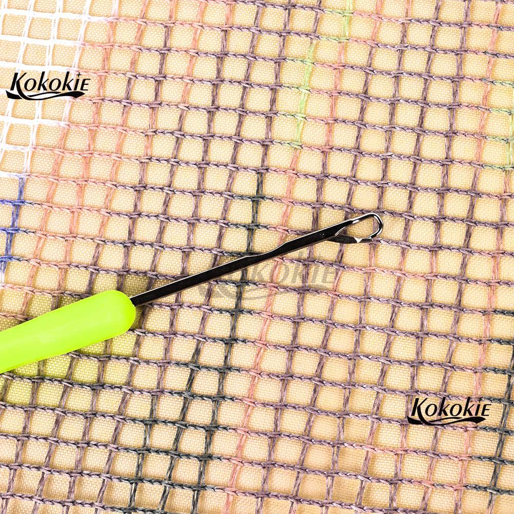 Gancio di chiusura Zerbino fumetto di pesce Cuscino Zerbino Punto Croce Ricamo uncinetto Kit Tappetini Lane e Filati fai da te Tappetini tappeto ricamo cuscino kit