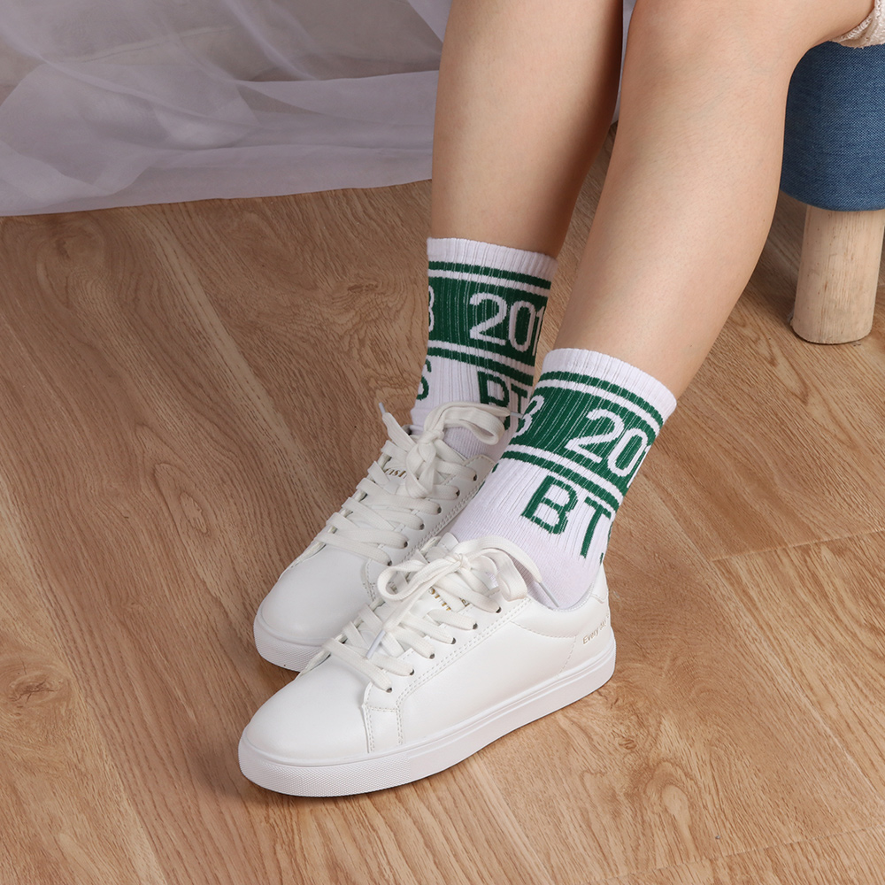 cd52fe18ad6e0 Fashion Fans Army Gift BTS Winter Warm Cotton Socks 2018 Women Men Bangtan  Boys KPOP Long Comfortable Breathable Funny Hosiery -in Socks from  Underwear ...