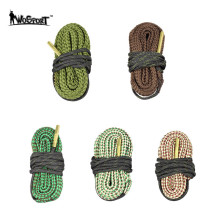Memburu Rifle Bore Cleaner Snake.22 Cal 5.56mm .223 Cal Taktikal Gun Pembersihan Tali Barel