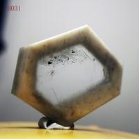 natural stones and minerals 18.5 grams of Venus crystal slice hexagonal crystal specimens