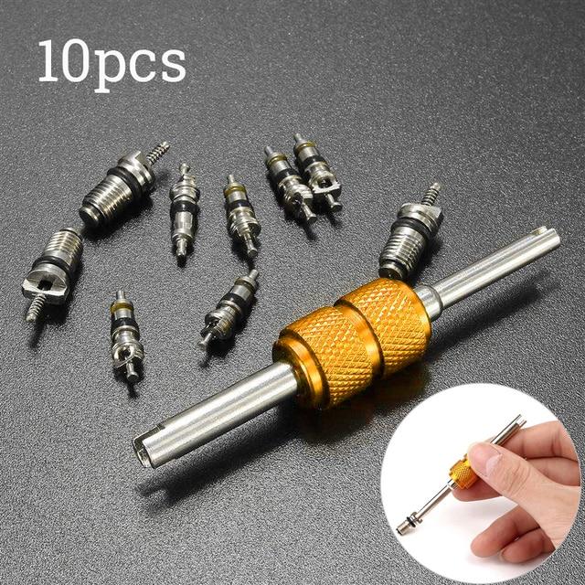 9 шт., набор инструментов для снятия сердцевины клапана кондиционера R134A