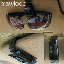 Yawlooc 1pc/lot 2016 NEW Car Styling Sunglasses Eyeglasses Glasses Holder Case Auto Sunvisor Accesories
