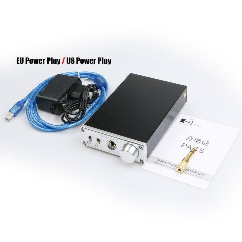 Nuevo FX-AUDIO DAC-X6 MINI HiFi Digital 2,0 decodificador de Audio DAC USB de entrada/Coaxial/Salida Óptica RCA/amplificador 24Bit/96 KHz DC12V - 5