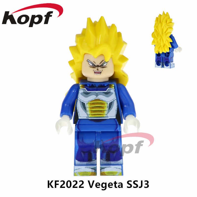 واحد بيع سوبر أبطال لعبة دراغون بول Z أرقام ماجين بو إطلاق تيان شين هان جوكو اللبنات ألعاب أطفال هدية KF2033
