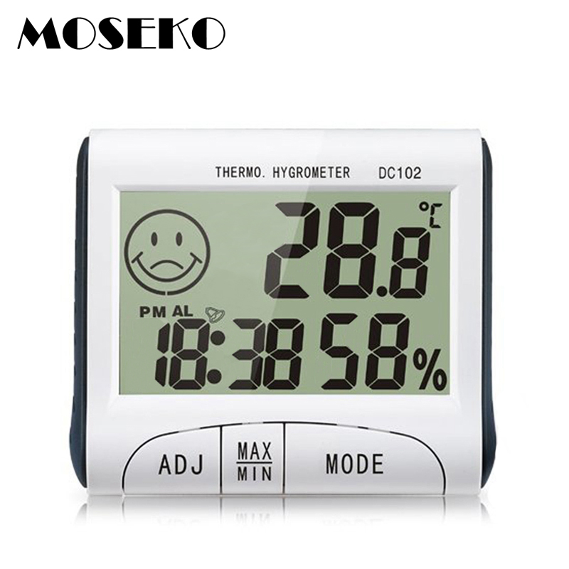 Mini LCD Digital Indoor Temperature Humidity Meter Thermomètre Hygromètre