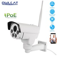 OwlCat Full HD 1080P 2MP 1920x1080 Wifi IP Camera PTZ 48V POE 2 87 13 5mm