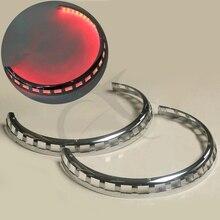 Аксессуары для мотоциклов тормозные крышки ротора кольцо огня красный для Honda Goldwing GL1800 2001- 02 03 04