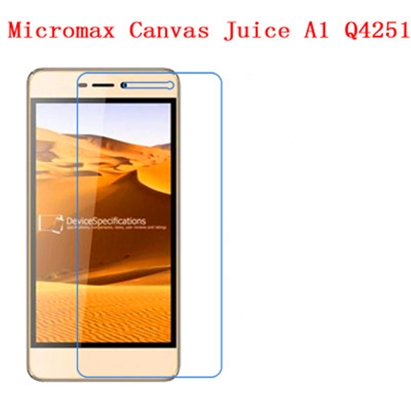 5 Pcs Ultra Thin Clear HD LCD Screen Guard Protector Film With Cleaning Cloth For Micromax Canvas Juice A1 Q4251.