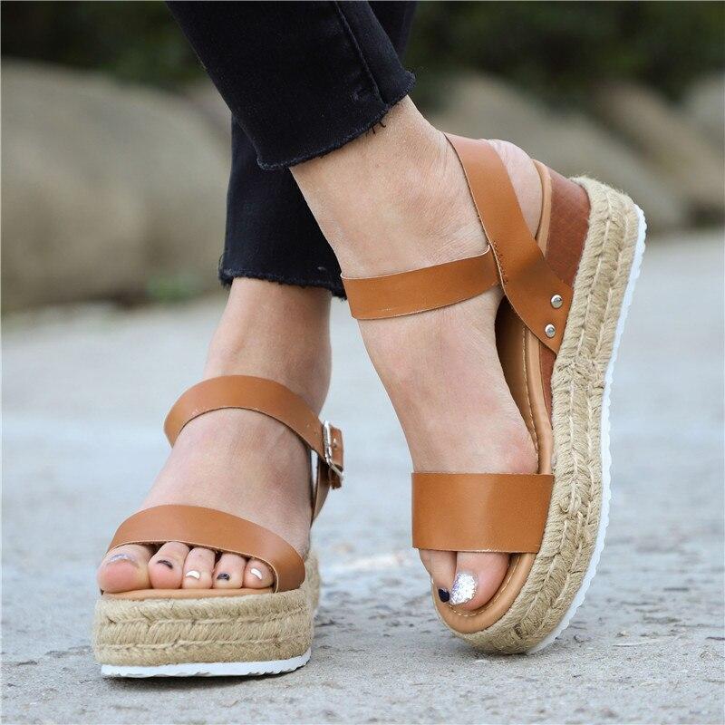 Women Sandals Platform Wedges Shoes