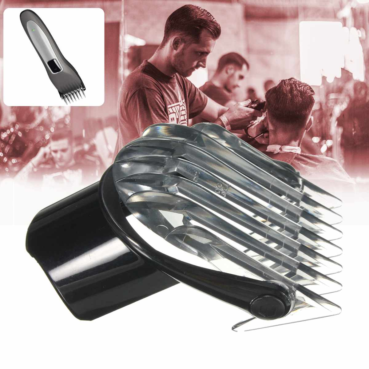 3-21mm Hair Clipper Attachment Grooming Comb For Philips QC5010 QC5050 QC5070 QC5090