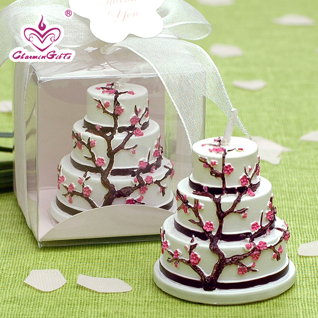 Free Shopping Birthday Cake Candle Sweet Japanese Cherry Style