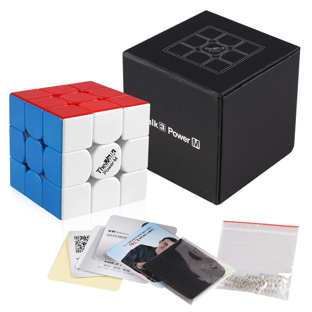 D-FantiX Qiyi Mongfangge Valk 3 Puissance M Magnétique 56mm Vitesse Cube 3x3x3 Professionnel WCA Jeu cube magique Jouets Cadeau - 4