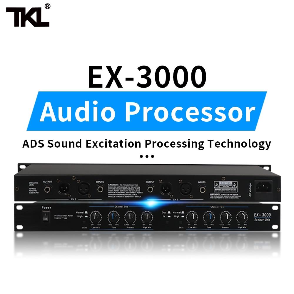 TKL EX3000 2 channels Sound Audio Exciter Processor speaker management pro audio processor protea pro stage audio equipment