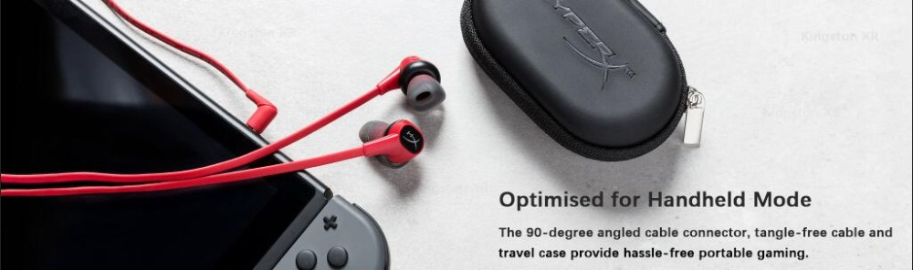 New Kingston HyperX Cloud Earbuds earphone Gaming Headset  3.5mm With Microphone In-Ear Immersive in-game Audio For Mobile Phone (2)