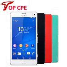 Оригинальный Разблокирована Sony Xperia Z3 Мини Z3 compact 4.6 дюймов 20.7MP 16 ГБ Quad Core 3 Г 4 Г WI-FI 2.5 ГГц GPS Отремонтированы мобильный телефон