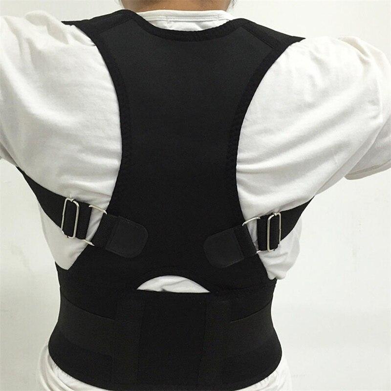 Adjustable Lumbar Support Straight Corrector for Posture Male Female Magnetic Posture Corrector Corset Back Men Brace Back Belt