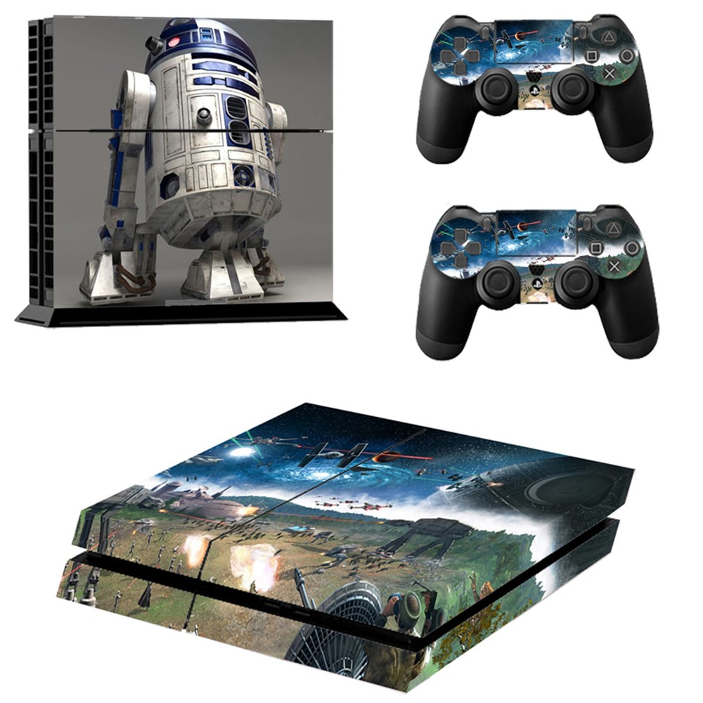 Star Wars Episode Iii Revenge Of The Sith Ps4 Skin Sticker For Sony Ps4 Console And 2 Dualshock Controllers Sticker Stickers Skoda Warli Designssticker Epoxy Aliexpress