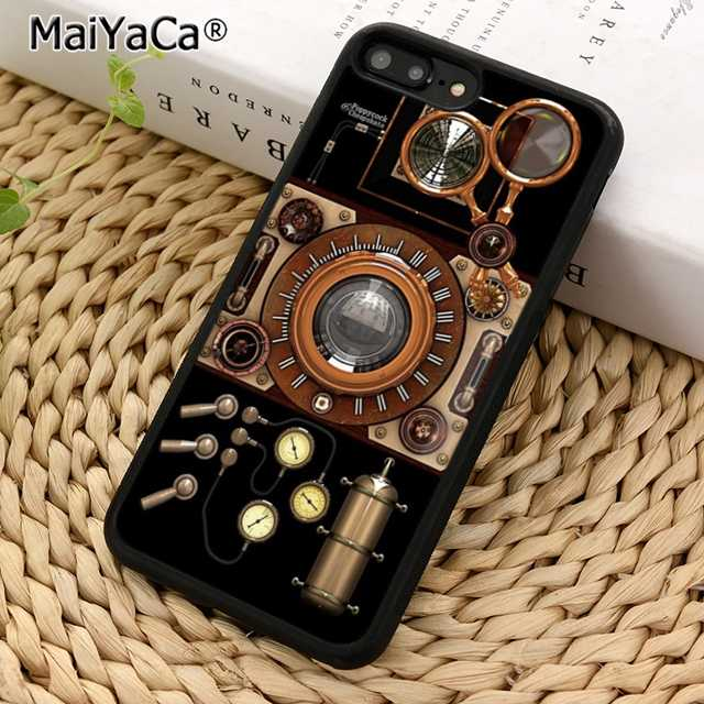 The Steampunk Machine Gun Case For Iphone 11 Pro X Xr Xs Max