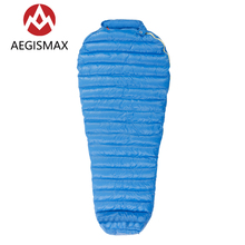 AEGISMAX M2 Mummy 95% White Goose Down Sleeping Bag Nice Ultralight Outdoor Camping Hiking Fully lining structure