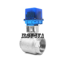G3 DN80 two-way brass AC12V/24V/220V fixed-type electric valve