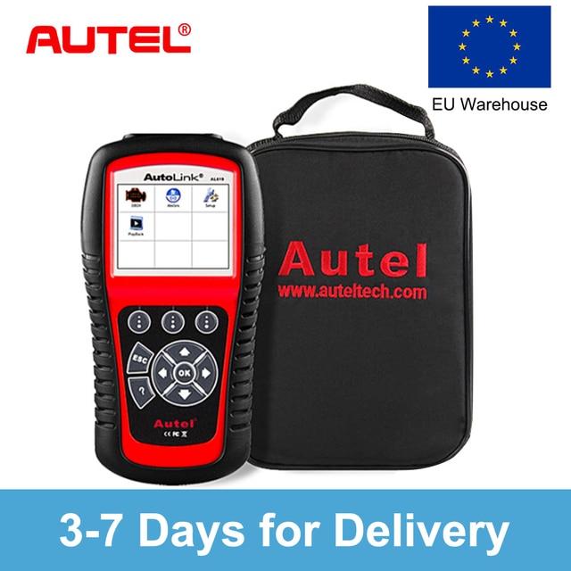 Big Sale Autel AutoLink AL519 OBD2 Car Diagnostic too Scanner Code Reader OBD Car Automotive Tool  EOBD CAN Automotive Scanner