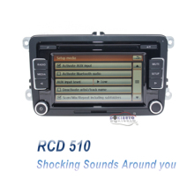 Car-Radio Camera-Version RCD510 Stereo Passat Golf 5 Polo Code AUX USB with for VW 6/Jetta/Mk5/..