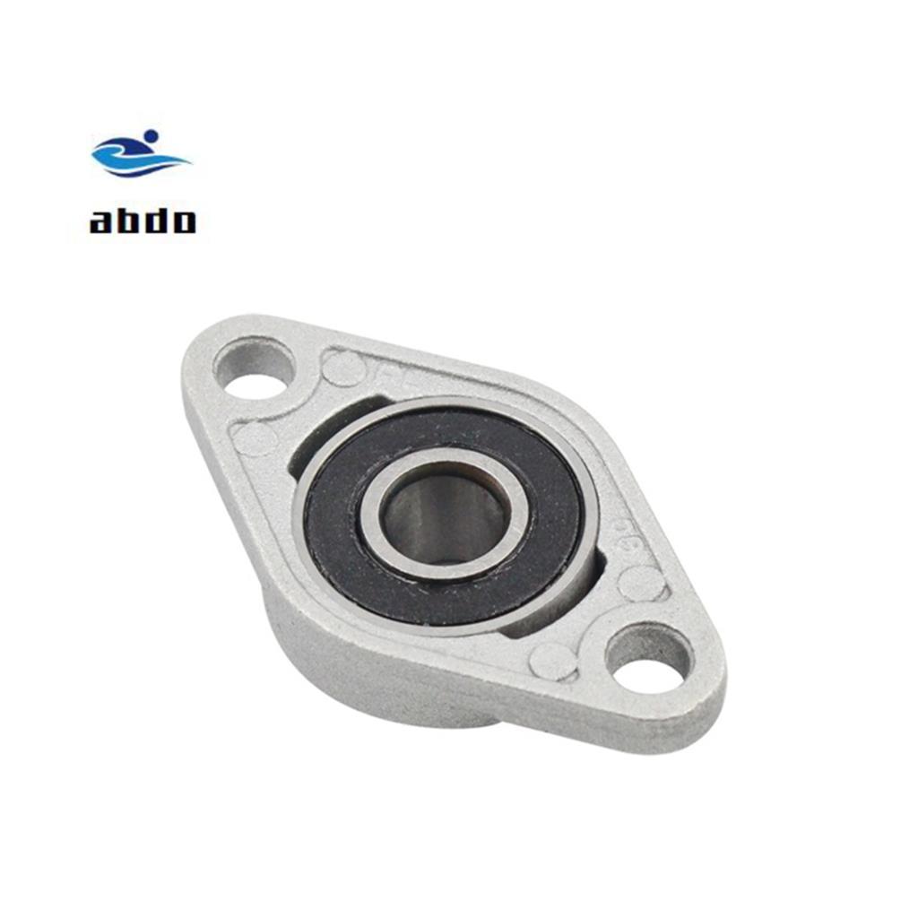 CNC Flange Block 16mm Diameter Aluminium Shaft Support
