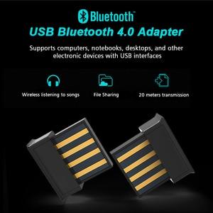 Image 5 - מתאם Bluetooth מיני Bluetooth 5.0 מקלט Bluetooth Dongles תמיכת Winows לינוקס Vista Mac OS עבור מחשב נייד Tablet מחשב
