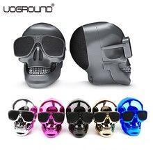 New Plastic Metallic Skull Shape Wireless font b Bluetooth b font font b Speaker b font