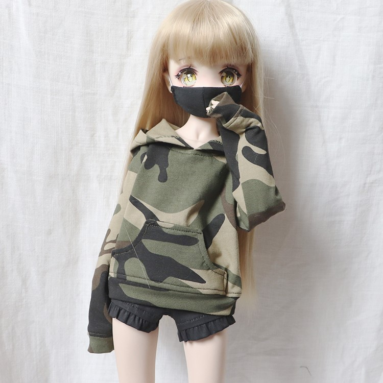 Camouflage Jacket For BJD 1/6 YOSD 1/4 MSD 1/3 SD16 SD17 Uncle Doll Clothes CWB159