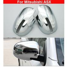 Хромированное Украшение зеркала заднего вида для Mitsubishi ASX- прочный
