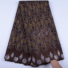 Mens Wear Swiss Voile Lace In Switzerland African French Voile Lace Fabric High Quality Cotton Nigerian Dry Lace Fabric A1602