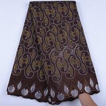 Odzież męska szwajcarski koronkowy woal w szwajcarii afryki francuski woal koronki tkaniny bawełna wysokiej jakości nigerii tkanina koronkowa typu Dry Lace A1602