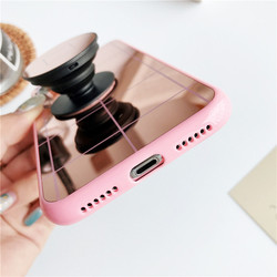 Luxury Fundas Phone Case for iPhone Xs Max Xr Mirror Case 2018 Soft TPU Protector Case iPhone Xs 6 6s 7 8 Plus Back Cover 5