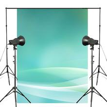 5x7ft Exquisite Green Photography Backdrop Image White Yellow Background Art Photo Studio Wall
