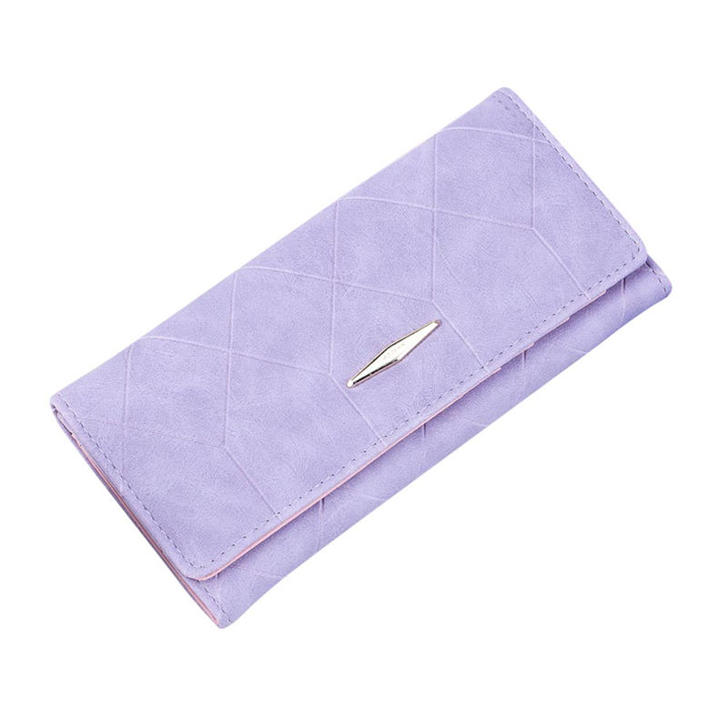 OCARDIAN 2018 Women Solid Hasp Coin Purse Long Wallet Card Holders Handbag Fashion Pu # p 6